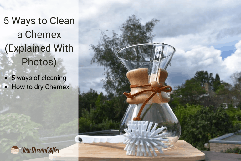 5 Ways to Clean a Chemex (Explained With Photos)