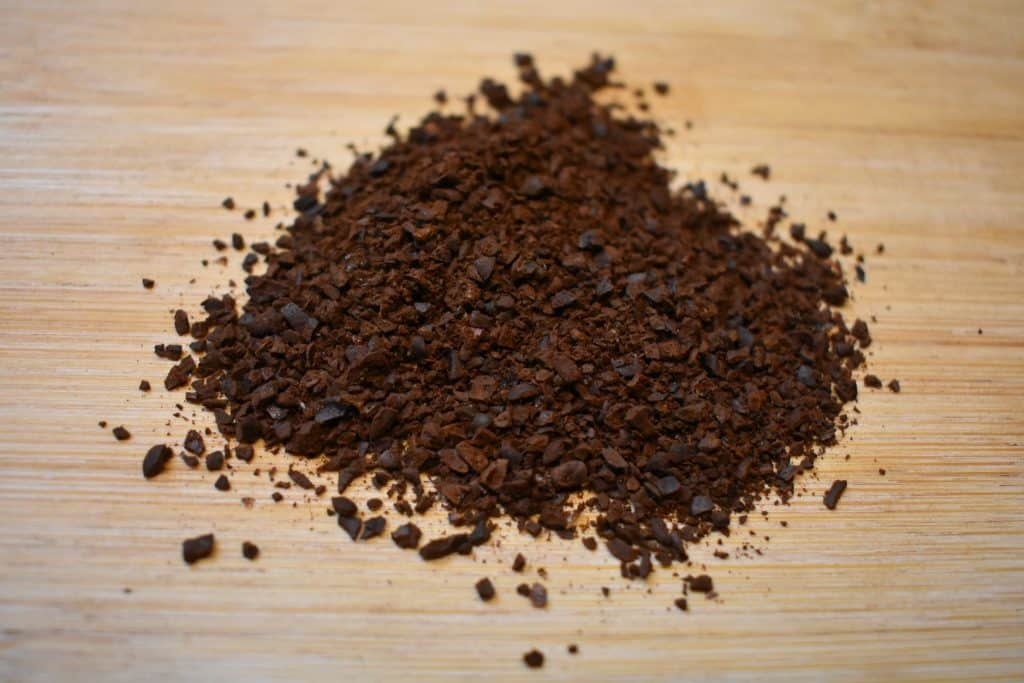Ground coffee for cold brew
