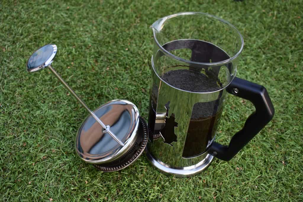 Is cold brew stronger than espresso: Does the brewing process matter? This is an image of the French Press