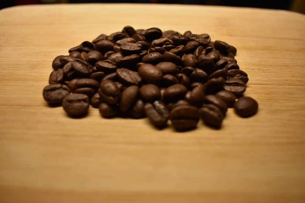 Coffee beans from Costa Rica