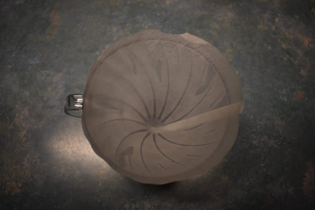 Hario V60 wet filter