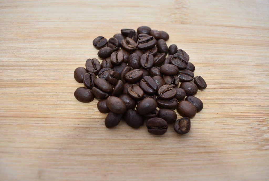 Medium roasted coffee beans