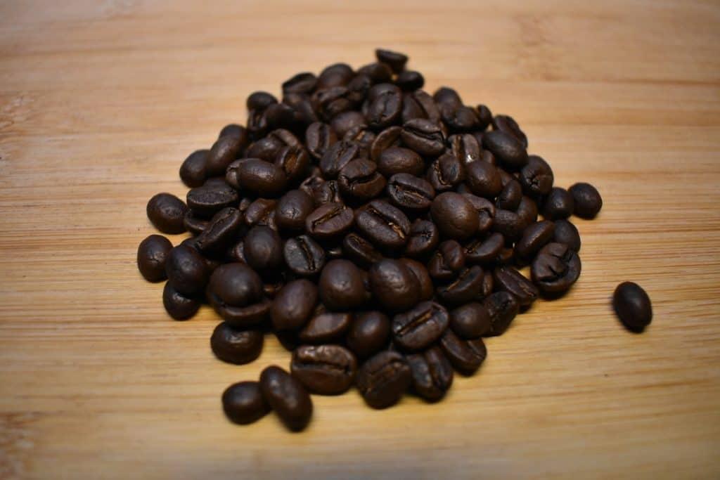 Flat white, coffee bean used