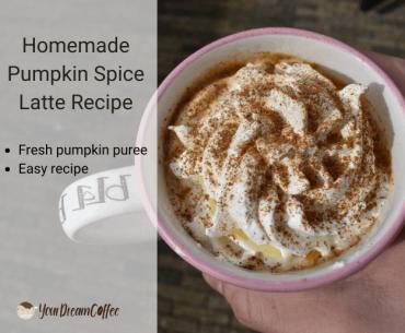 Homemade Pumpkin Spice Latte Recipe – Using Fresh Pumpkin