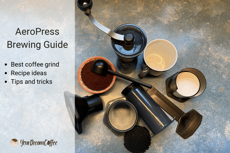 AeroPress regular brewing guide