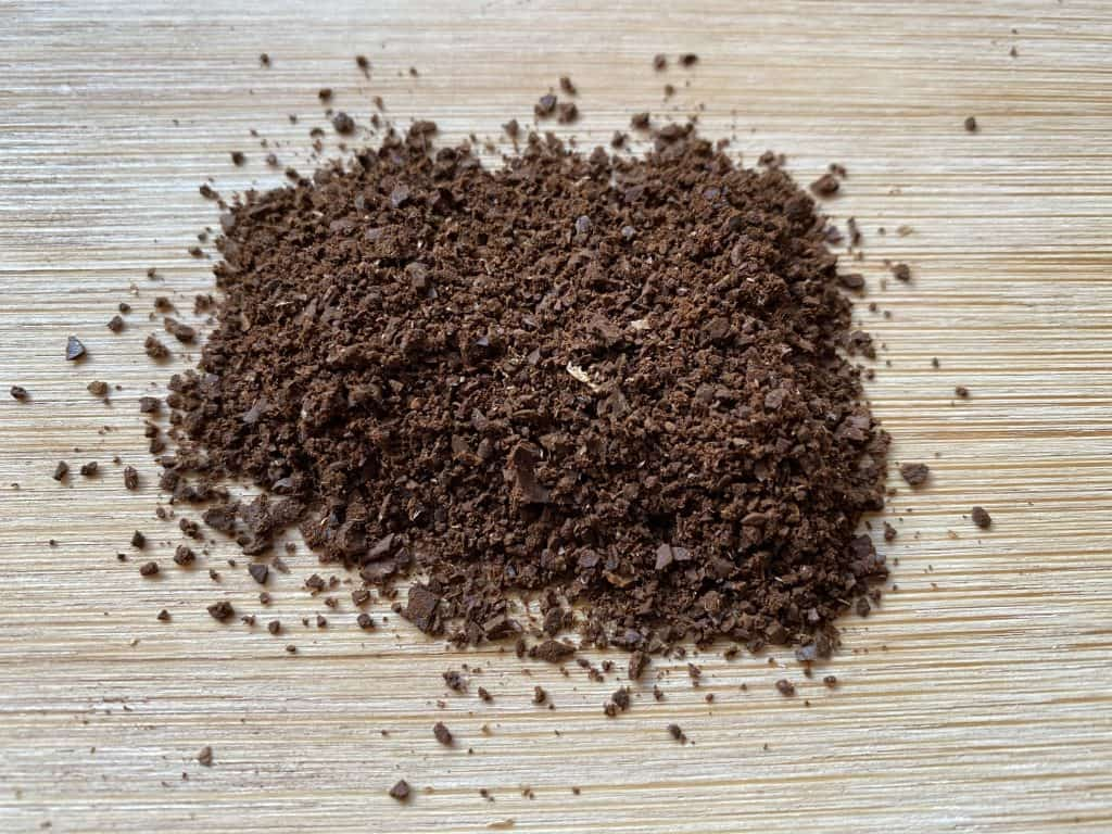 Grind size that I like to use for brewing French press coffee