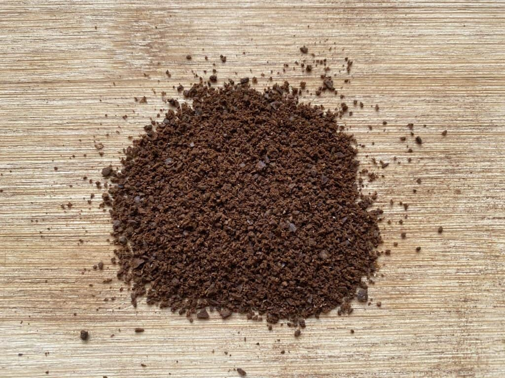 """""""Fine to medium grind size of coffee, used for the brewing of AeroPress coffee"""""""