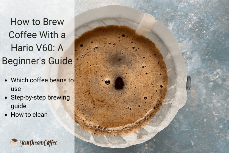 How to Brew Coffee With a Hario V60: A Beginner's Guide