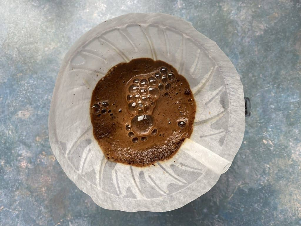 """""""Hario V60 coffee made for Café con Miel recipe"""""""