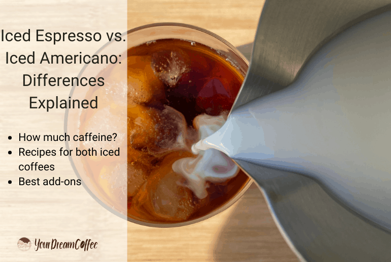 Iced Espresso vs. Iced Americano: Differences Explained