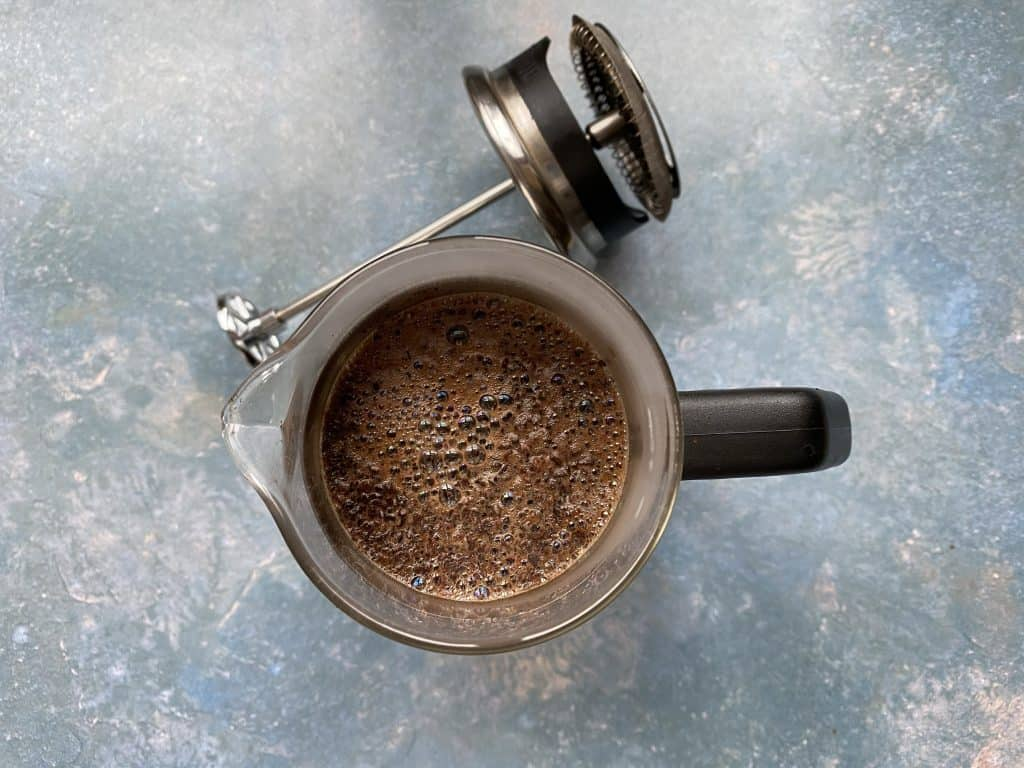 """""""Brewing coffee with the French press"""""""