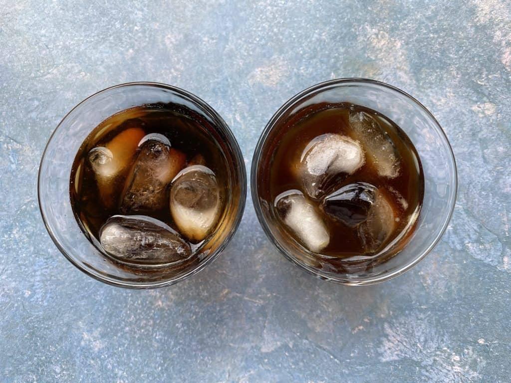 """""""Iced Americano vs. cold brew."""""""