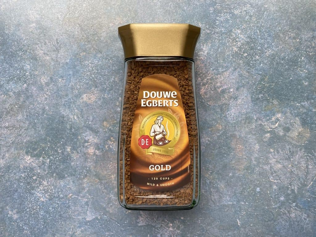 """""""Douwe Egberts instant coffee I used for this recipe."""""""