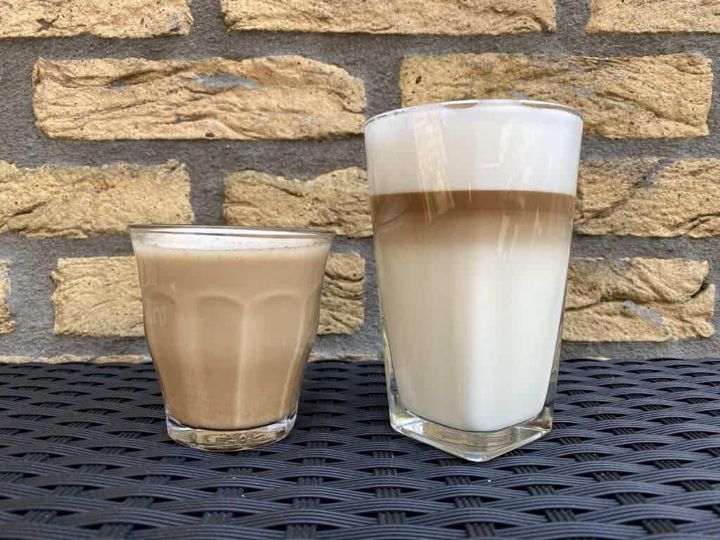 """""""Café au lait vs. latte."""""""
