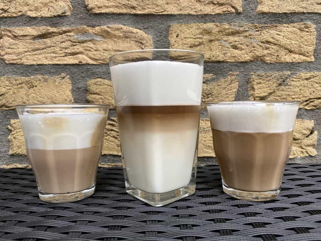 """""""Cappuccino vs. latte vs. macchiato."""""""