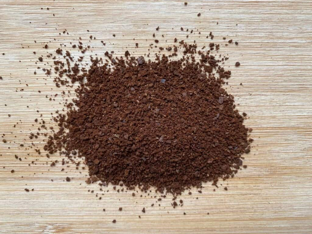 """""""Coffee grind size I like to use when brewing Hario V60 coffee."""""""