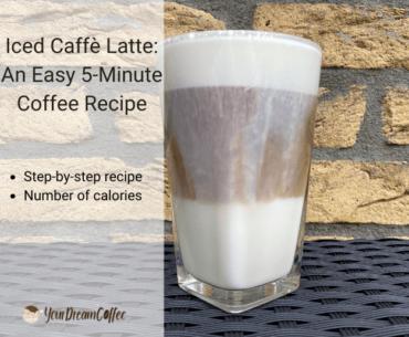 Iced Caffè Latte: An Easy 5-Minute Coffee Recipe