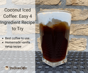 Coconut Iced Coffee: Easy 4 Ingredient Recipe to Try