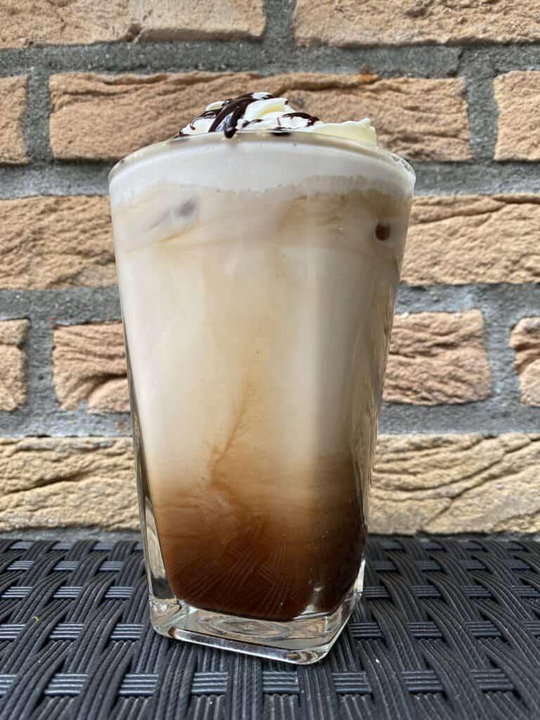 """Iced mocha latte."""