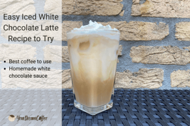 Easy Iced White Chocolate Latte Recipe to Try