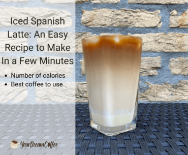 Iced Spanish Latte: An Easy Recipe to Make In a Few Minutes