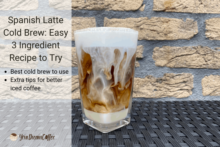 Spanish Latte Cold Brew: Easy 3 Ingredient Recipe to Try