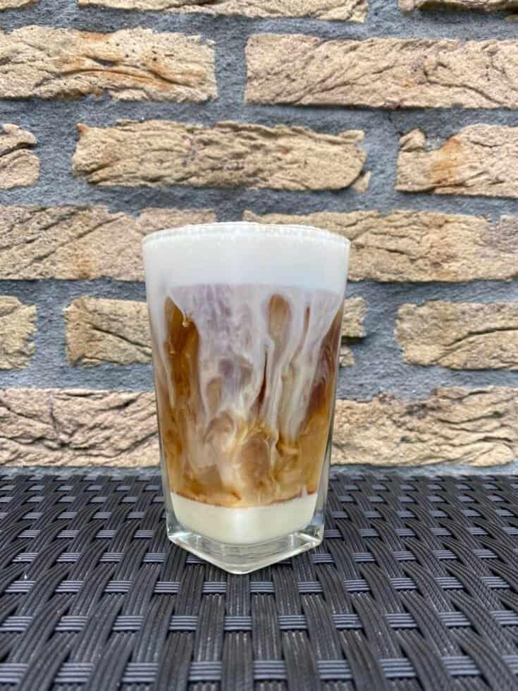 Spanish latte cold brew recipe.