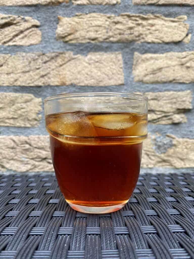 AeroPress cold brew coffee.