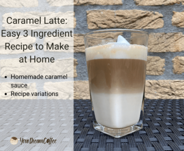Caramel Latte: Easy 3 Ingredient Recipe to Make at Home