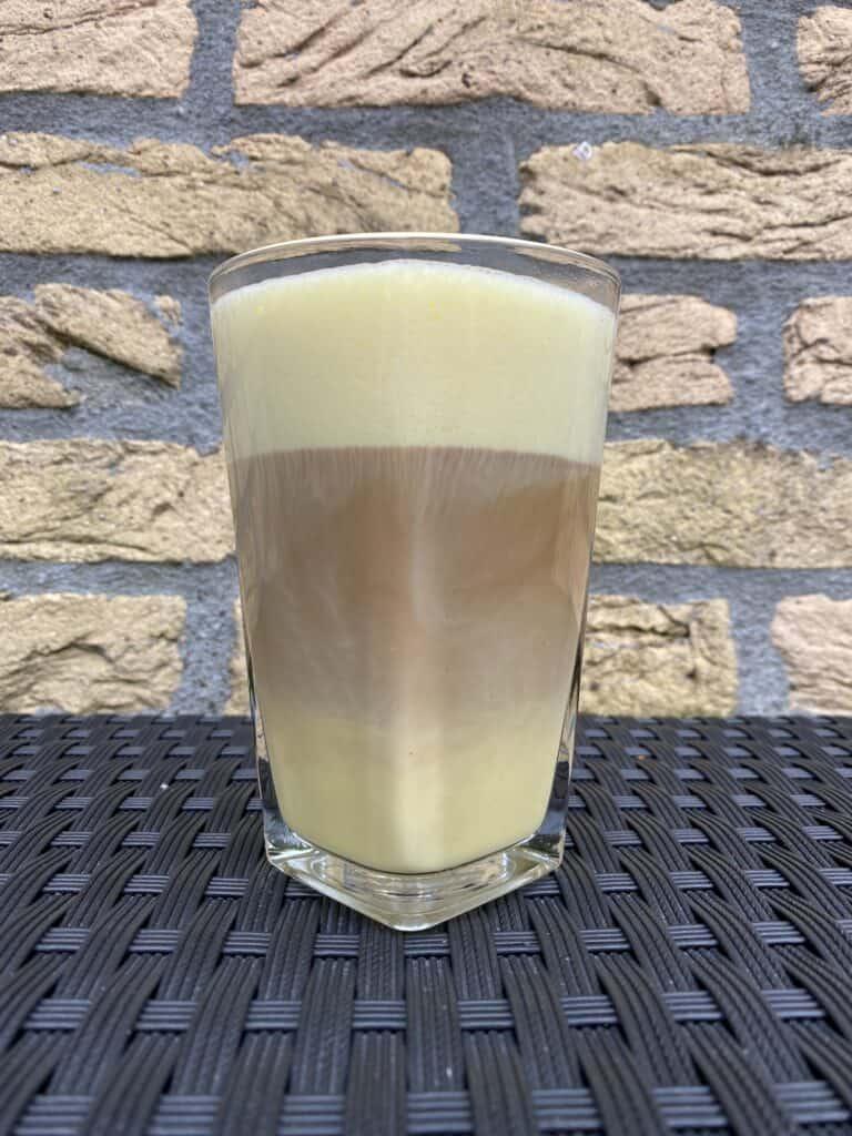Saffron latte.